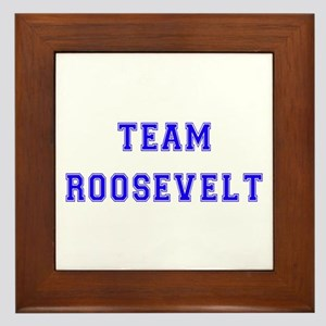 Team Roosevelt Framed Tile