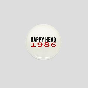 HAPPY HEAD 1986 Mini Button