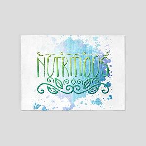 nutritious 5'x7'Area Rug