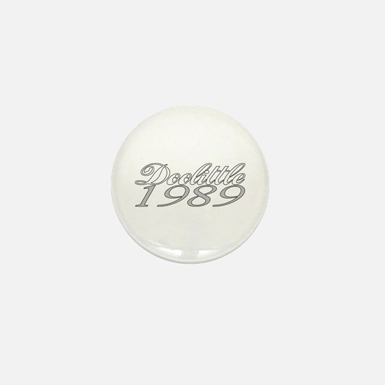 Doolittle 1989 Mini Button