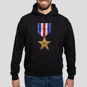 Silver Star Hoodie (dark)