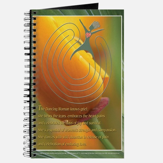 Labyrinth Journal with The Dancing Woman
