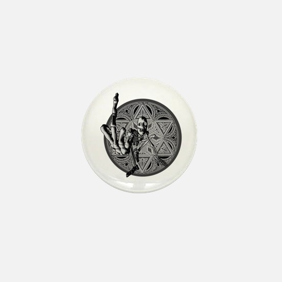 Digitus Impudicus Mini Button