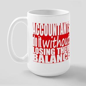 Balanced Accountant Large Mug