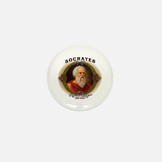 Socrates Philosopher Mini Button