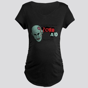 ZombAid Shaun Dead Maternity Dark T-Shirt