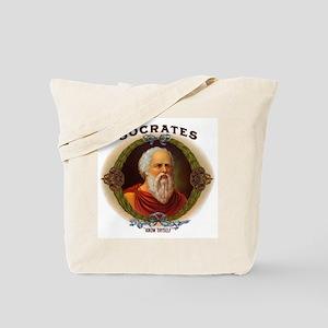 Socrates Philosopher Tote Bag