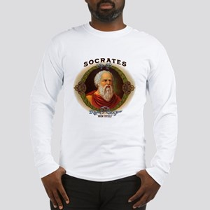 Socrates Philosopher (Front) Long Sleeve T-Shirt