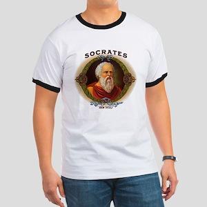 Socrates Philosopher (Front) Ringer T