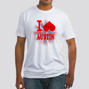 I No Heart Austin Fitted T-Shirt