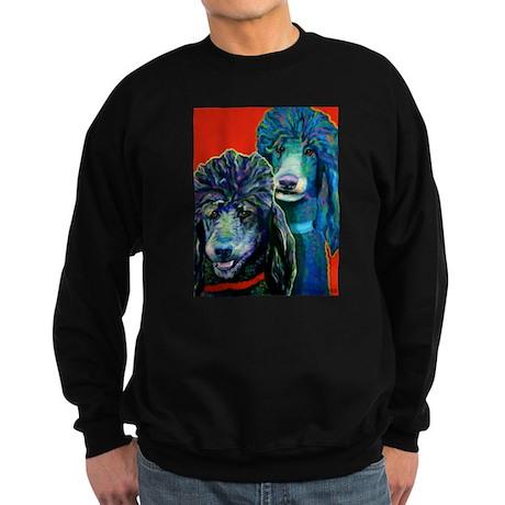 Poodles! Sweatshirt (dark)