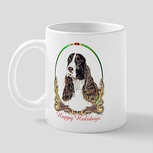 Springer Spaniel Holiday Mug