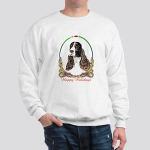 Springer Spaniel Holiday Sweatshirt