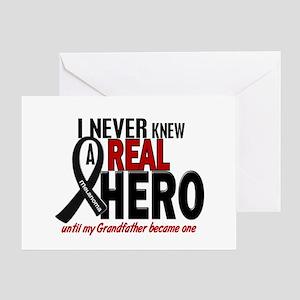 Never Knew A Hero 2 MELANOMA (Grandfather) Greetin