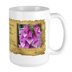 Large Foxglove Mug