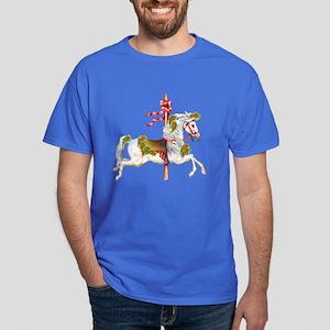 Carousel Horse Dark T-Shirt