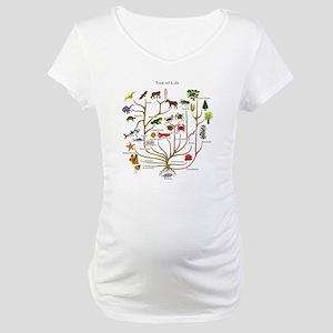 Tree of Life Maternity T-Shirt