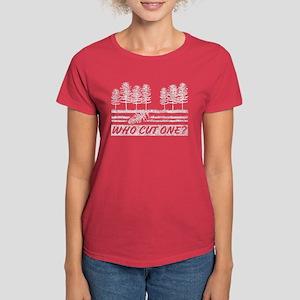 Who Cut One Women's Dark T-Shirt