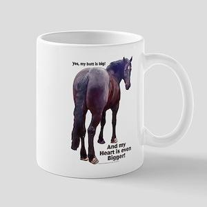 Big Butt Percheron Mug