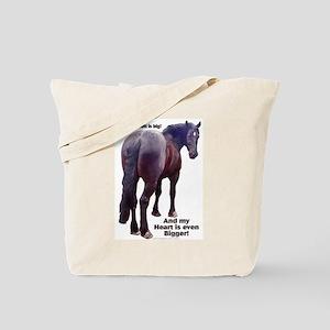 Big Butt Percheron Tote Bag