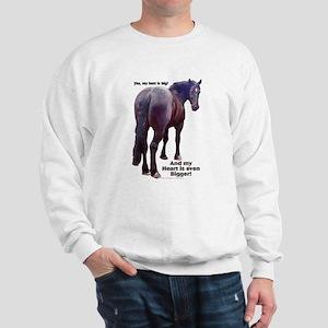 Big Butt Percheron Sweatshirt
