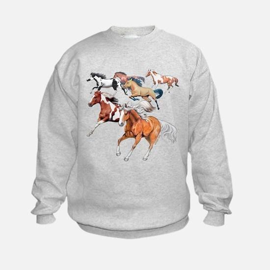 Make Tracks and Herd Sweatshirt