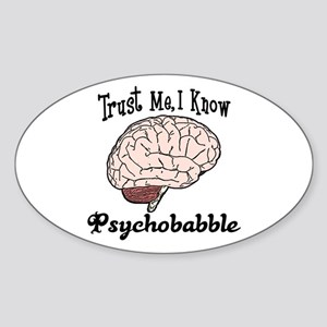 Therapy Oval Sticker