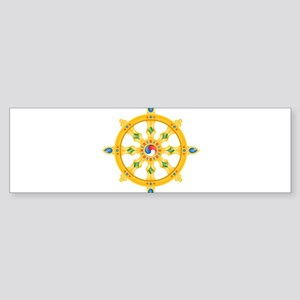 Dharmachakra wheel Bumper Sticker