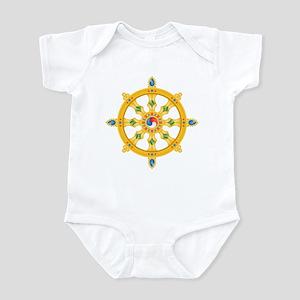 Dharmachakra wheel Infant Bodysuit