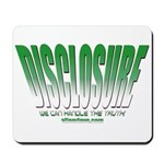 Disclosure Project (green slant) Mousepad