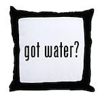 got water? Throw Pillow