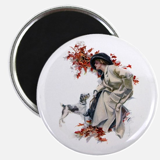 """AUTUMN LEAVES 2.25"""" Magnet (10 pack)"""