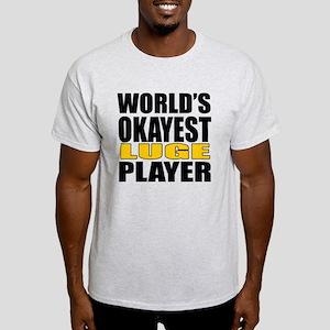 Worlds Okayest Knee Boarding Player Light T-Shirt