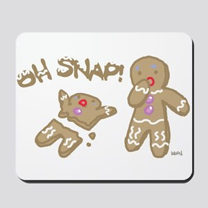 Oh Snap Holiday Mousepad