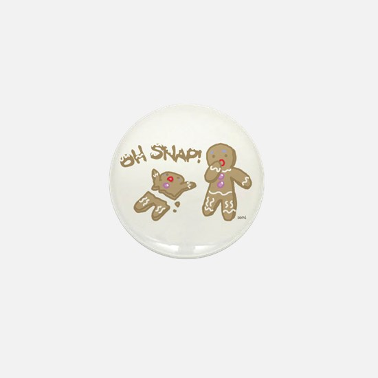 Oh Snap Holiday Mini Button