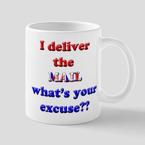 Mailman Excuse Mug