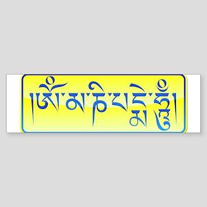 Om_mani Mantra Bumper Sticker