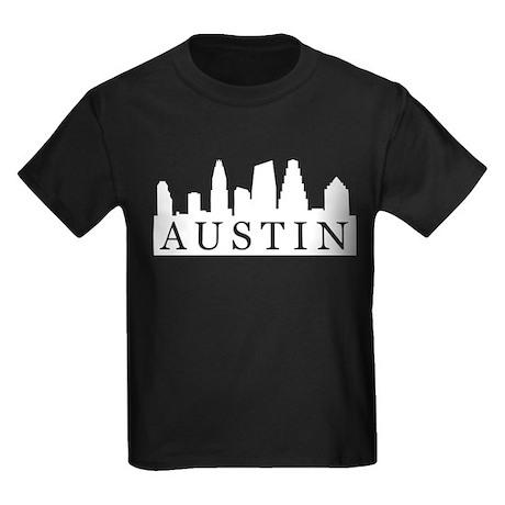 Austin Skyline Kids Dark T-Shirt