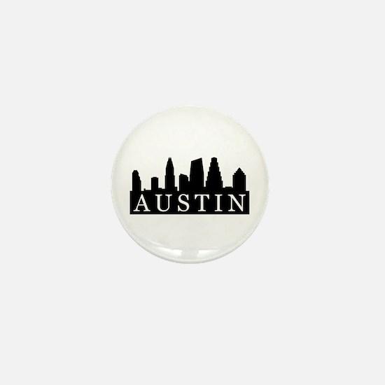 Austin Skyline Mini Button