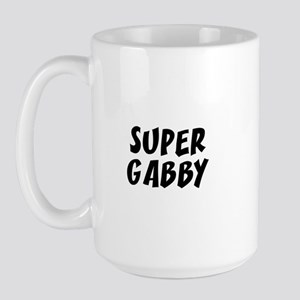 Super Gabby Large Mug