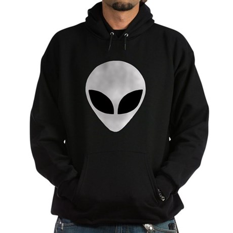 Alien Head (Smaller) Hoodie (dark)