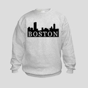 Boston Skyline Kids Sweatshirt