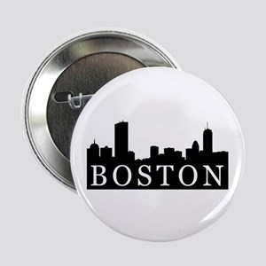 Boston Skyline Button