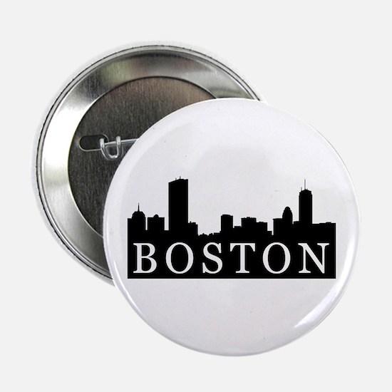 Boston Skyline Button