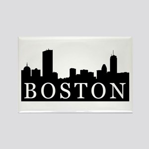 Boston Skyline Rectangle Magnet