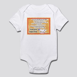 You Know You're an ER VET... Infant Bodysuit