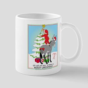 Christmas Donkey Mug