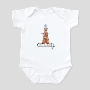 Irish Terrier Chef Infant Bodysuit