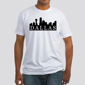 Dallas Skyline Fitted T-Shirt
