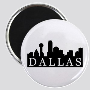 Dallas Skyline Magnet
